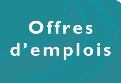 Offres d'emploi de la semaine du 22 octobre 2018