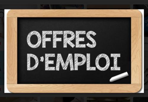 Offres d'emploi de la semaine du 22 mars 2021