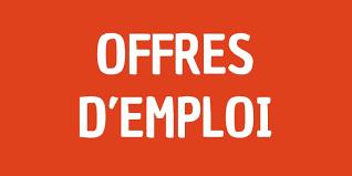 Offres d'emplois de la semaine du 29 mars 2021