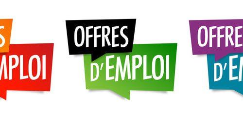 Offres d'emploi de la semaine du 21 juin 2021
