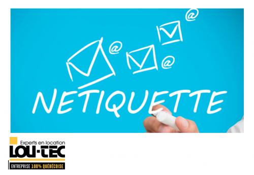 La nétiquette ou comment se comporter dans ses communications électroniques? Venez partager votre savoir-faire!