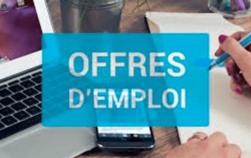 Offres d'emploi de la semaine du 19 juillet 2021