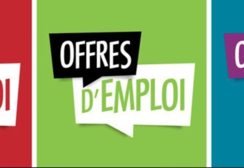 Offres d'emploi de la semaine du 9 août 2021